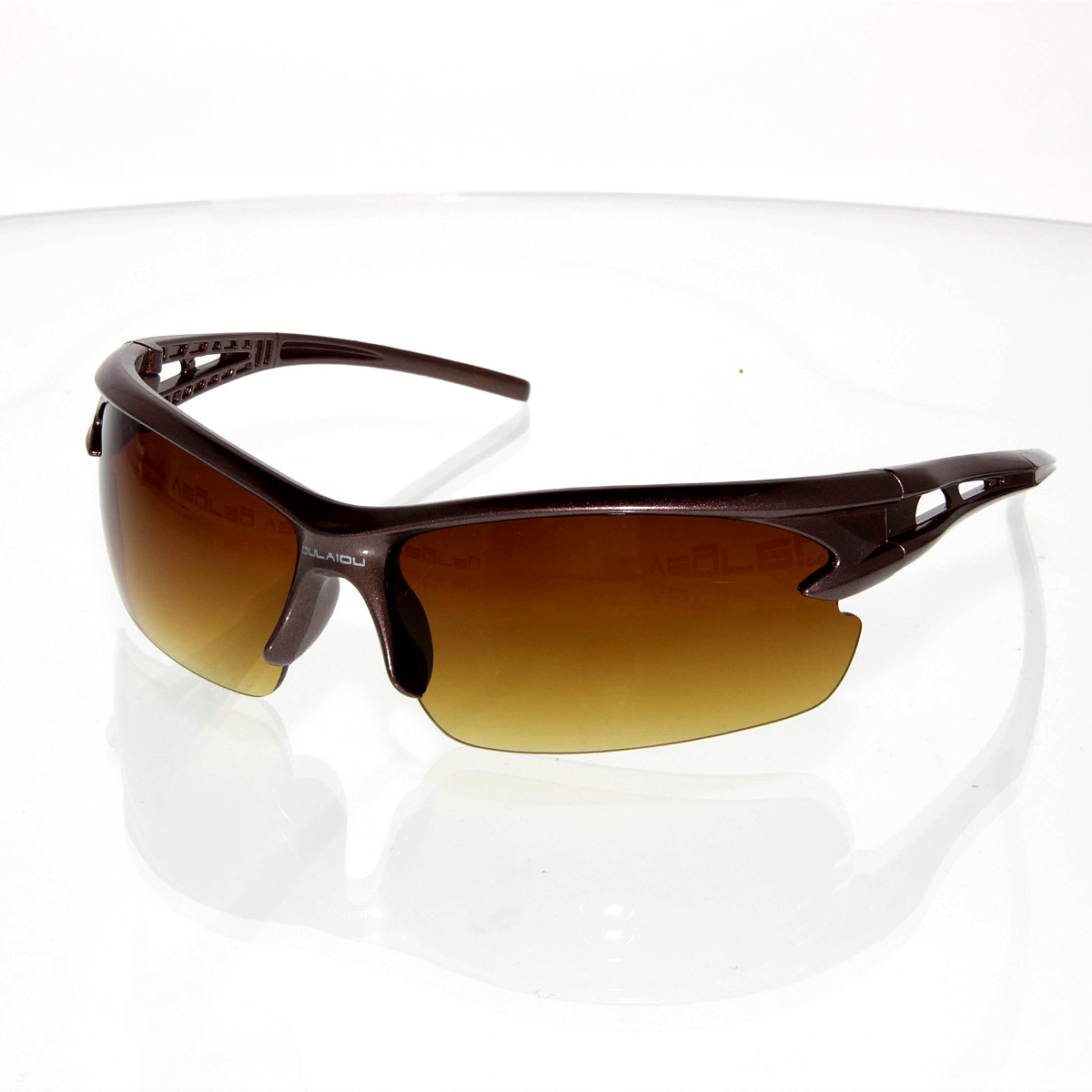 Sluneční brýle Cyklo hnědé