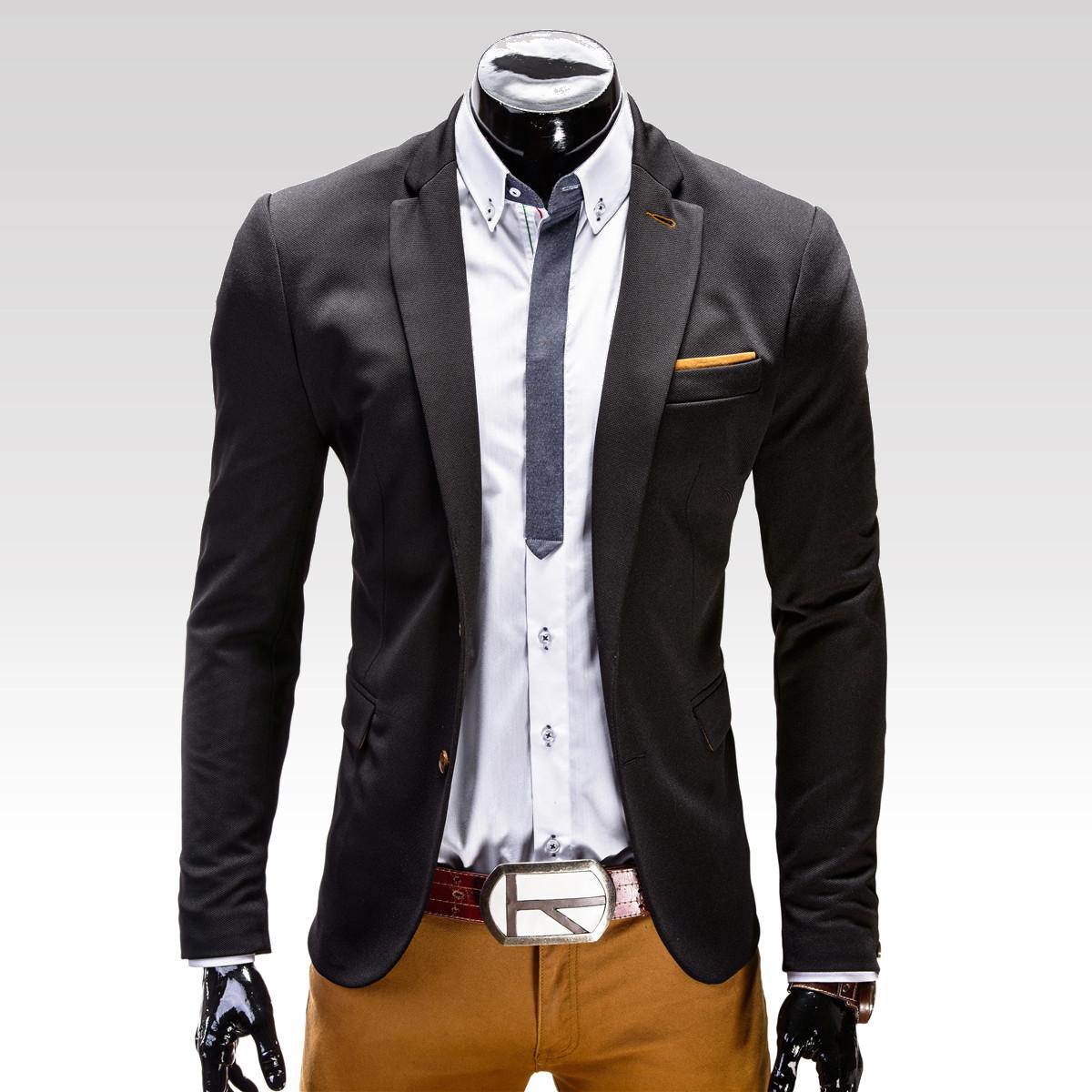 Pánské sako Filippo černé
