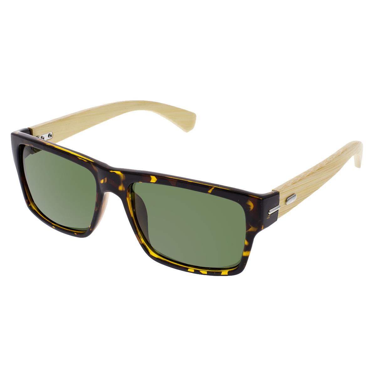 Dřevěné sluneční brýle polarizační Willow leopard