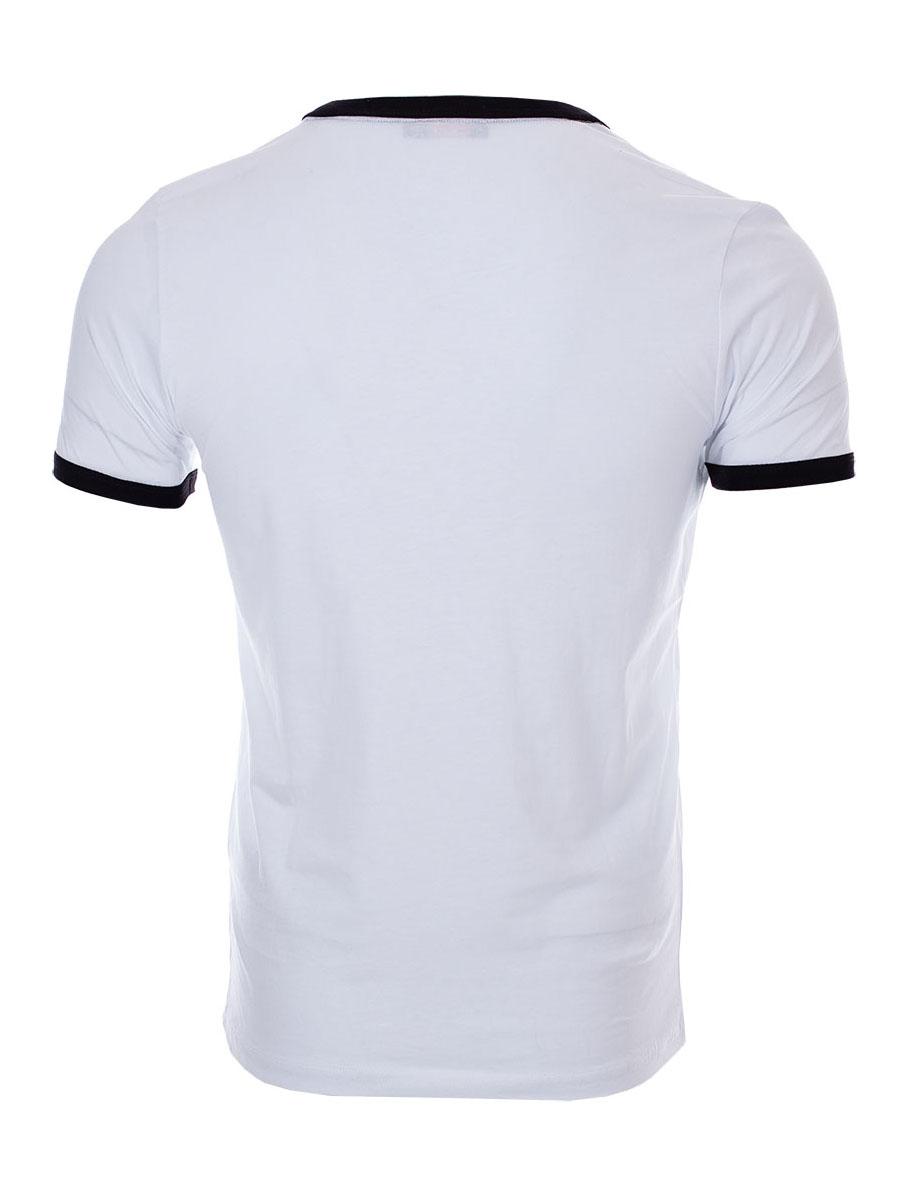 Pánské tričko s výstřihem do V Access bílé S