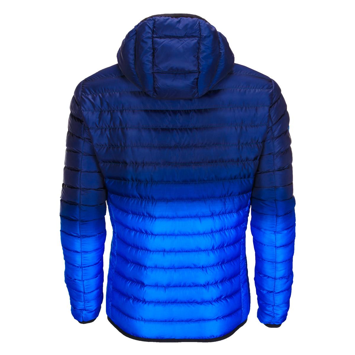 Pánská prošívaná bunda Avalanche tmavě modrá S