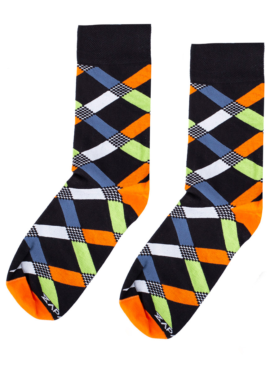 Mens Socks Cardinale black size 39-41