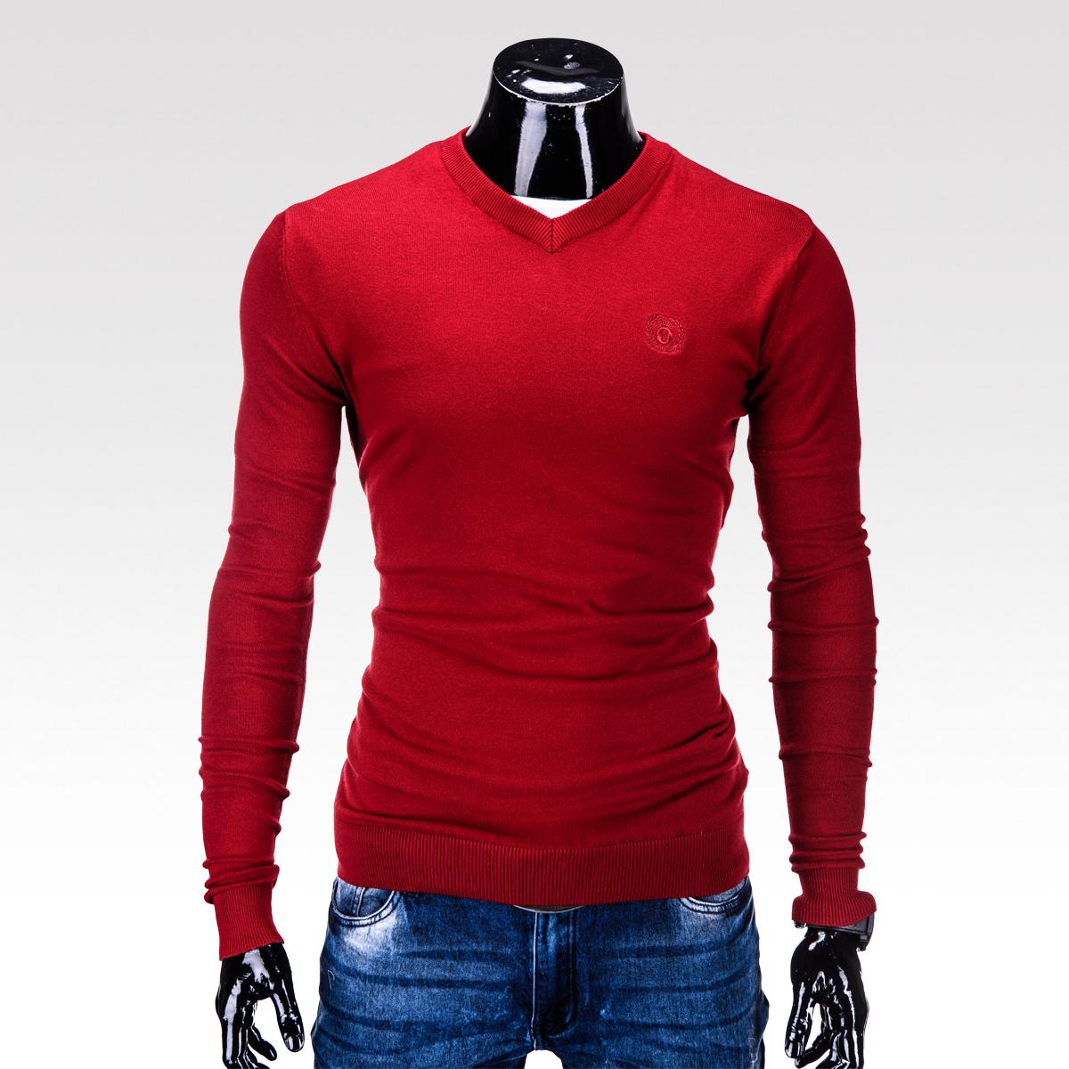 Pánský svetr Verel červený