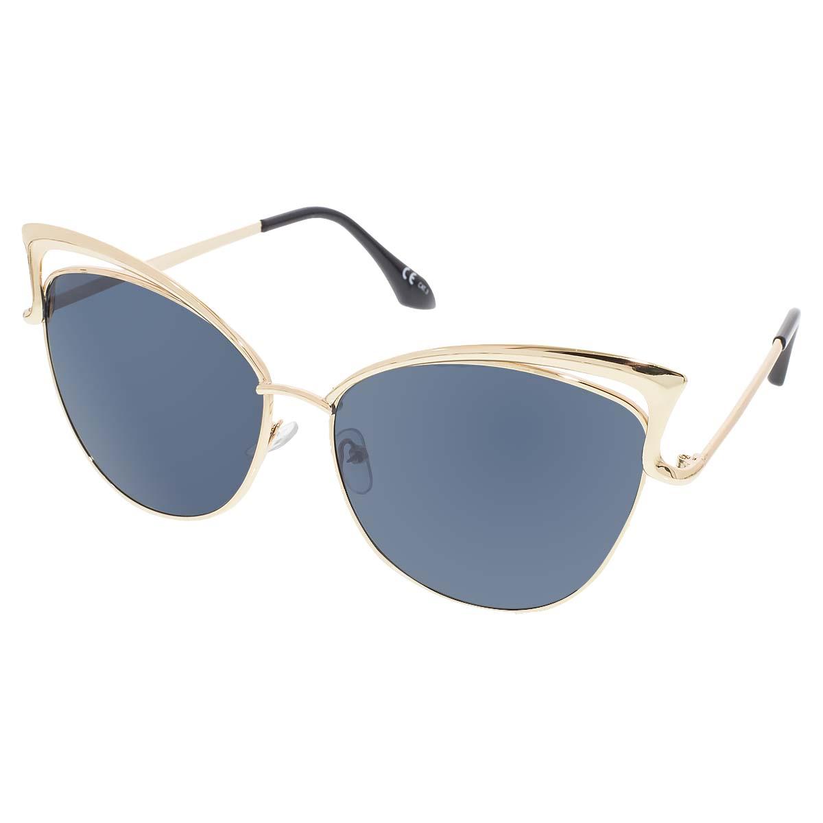 Dámské sluneční brýle Relic zlaté obroučky černá skla
