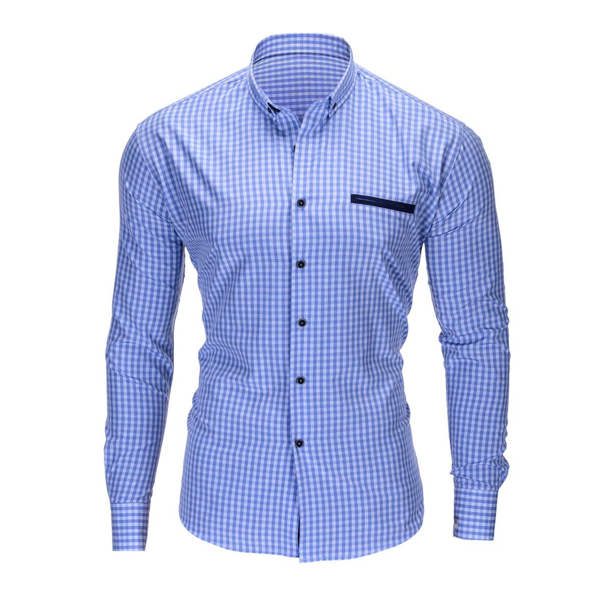 Pánská košile Trent světle modrá