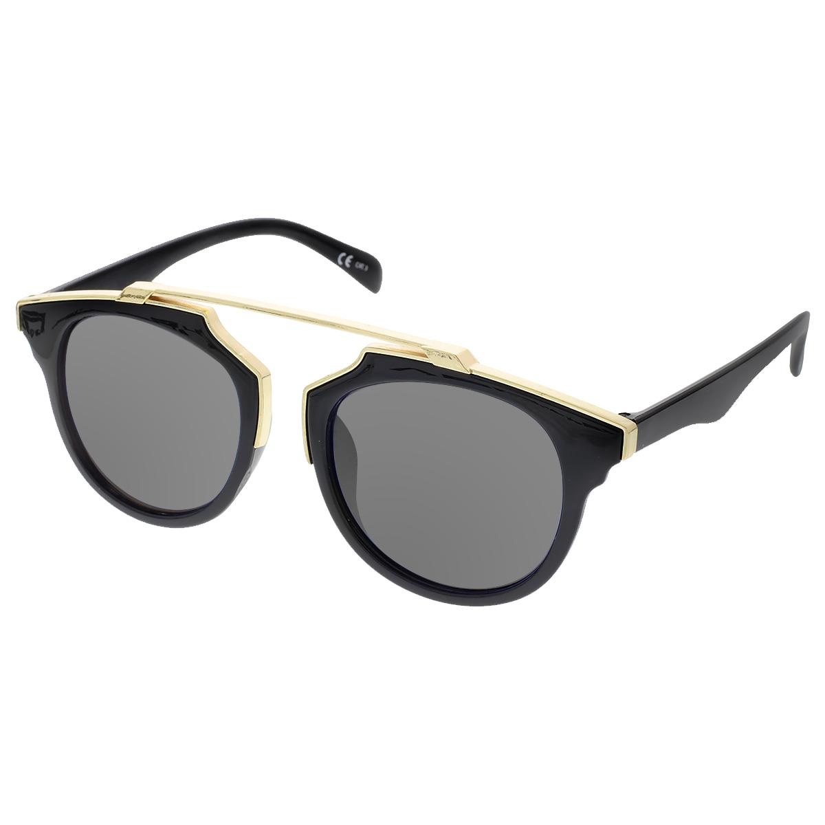 Sluneční brýle Weight černé obroučky šedá skla.