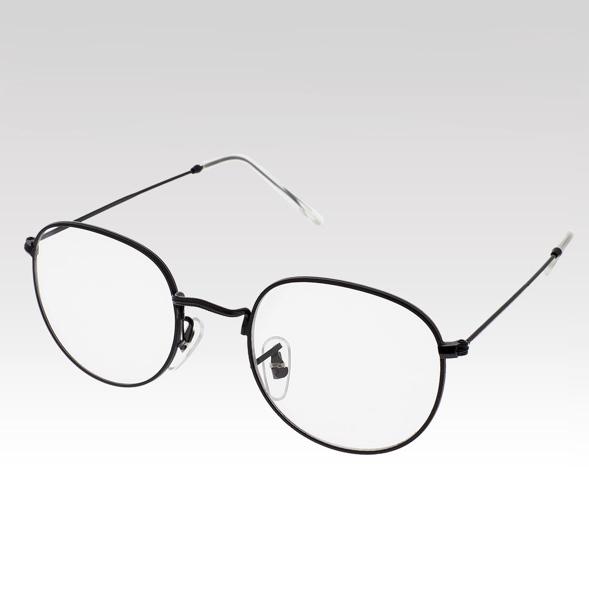 Brýle čiré nedioptrické Lucca černé