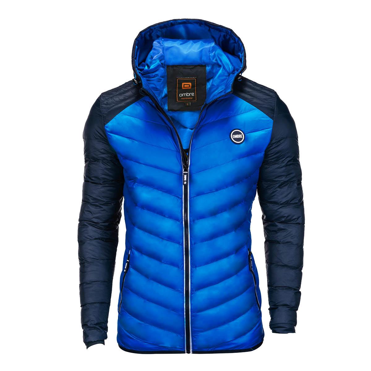 Mens Jacket Freud Blue S