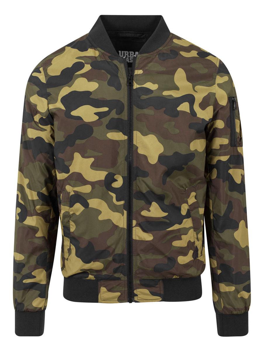 Mens Bomber Jacket Nolan Camo S