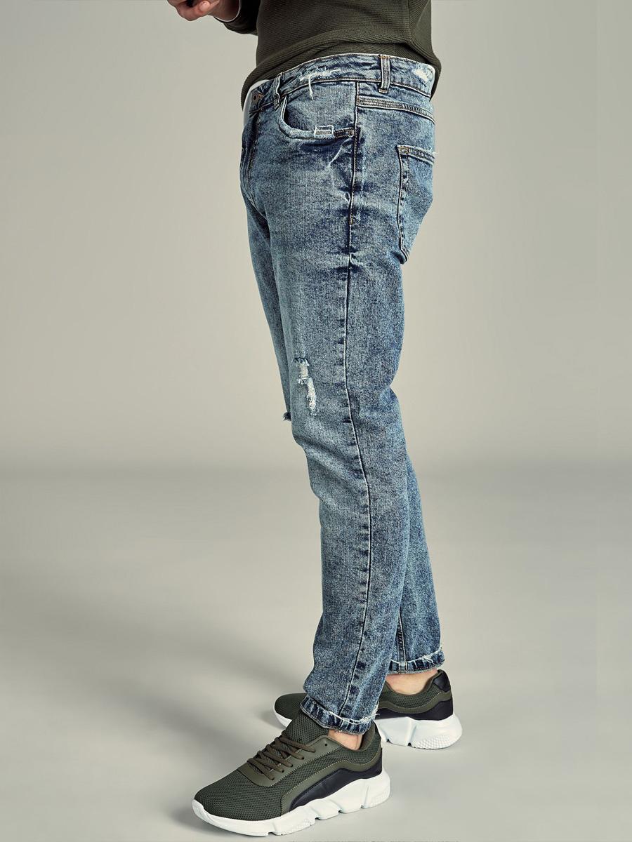 Kalhoty 26598 Denim