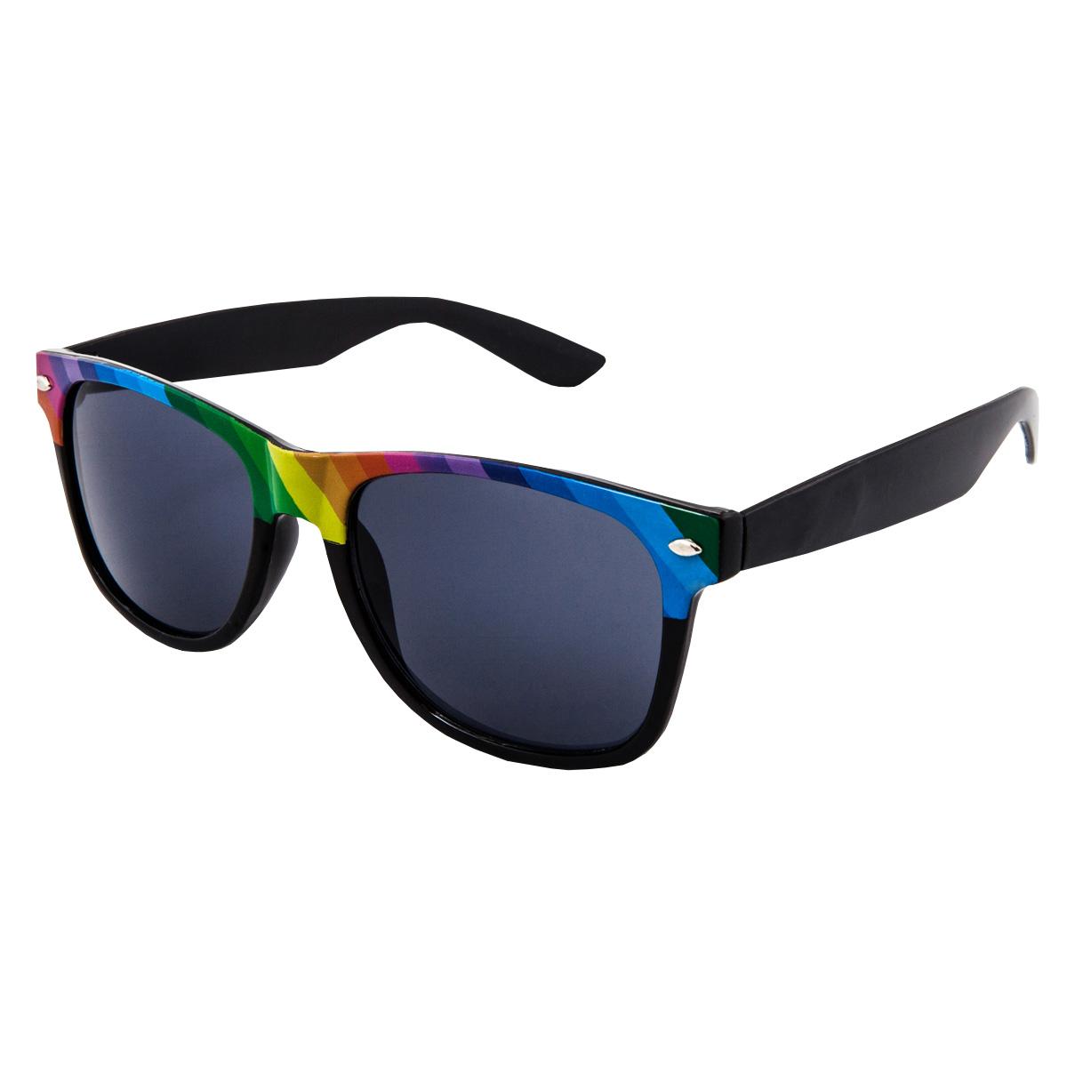 Levně VeyRey Sluneční brýle VeyRey Nerd spectrum černé SG0077