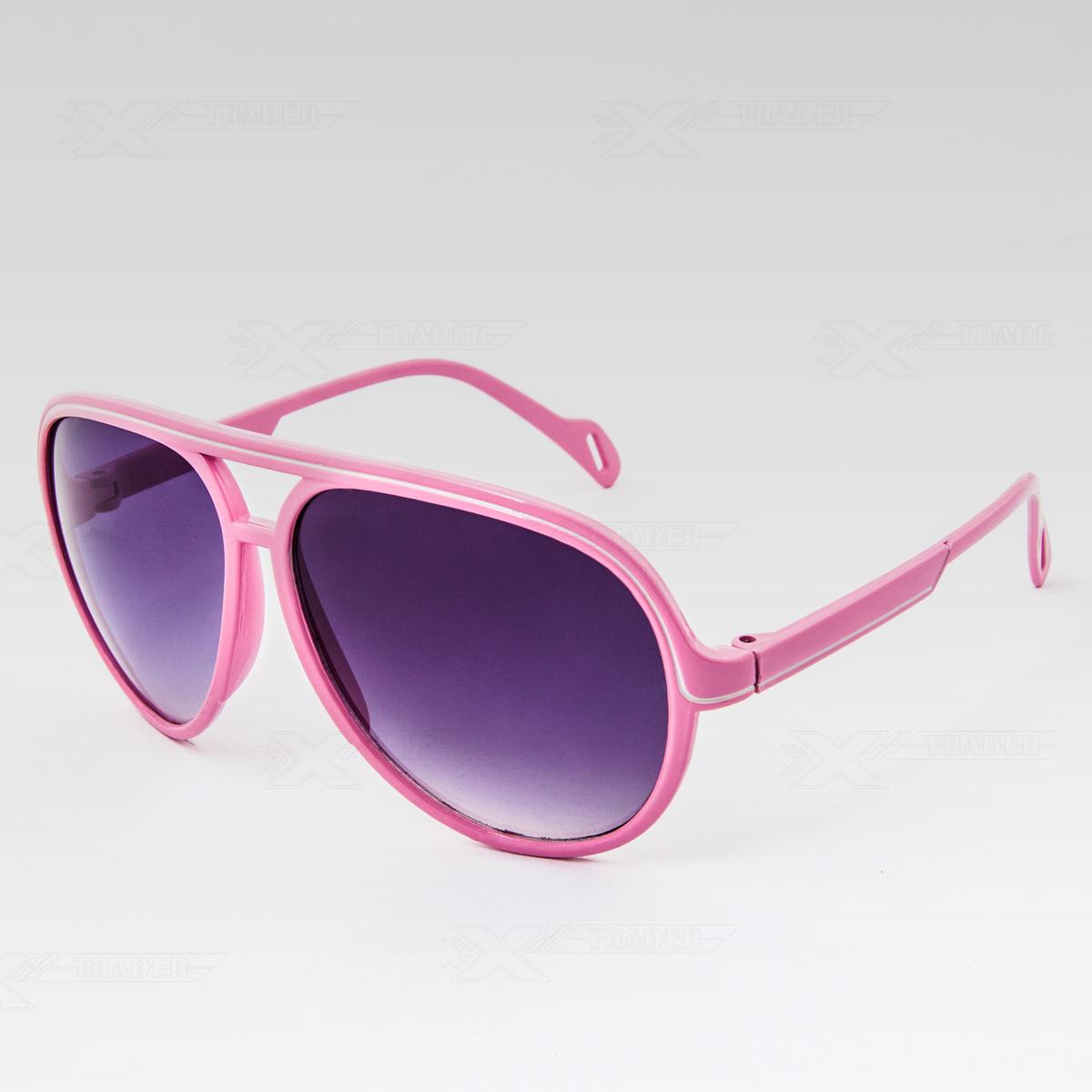 Sluneční brýle Cop růžové