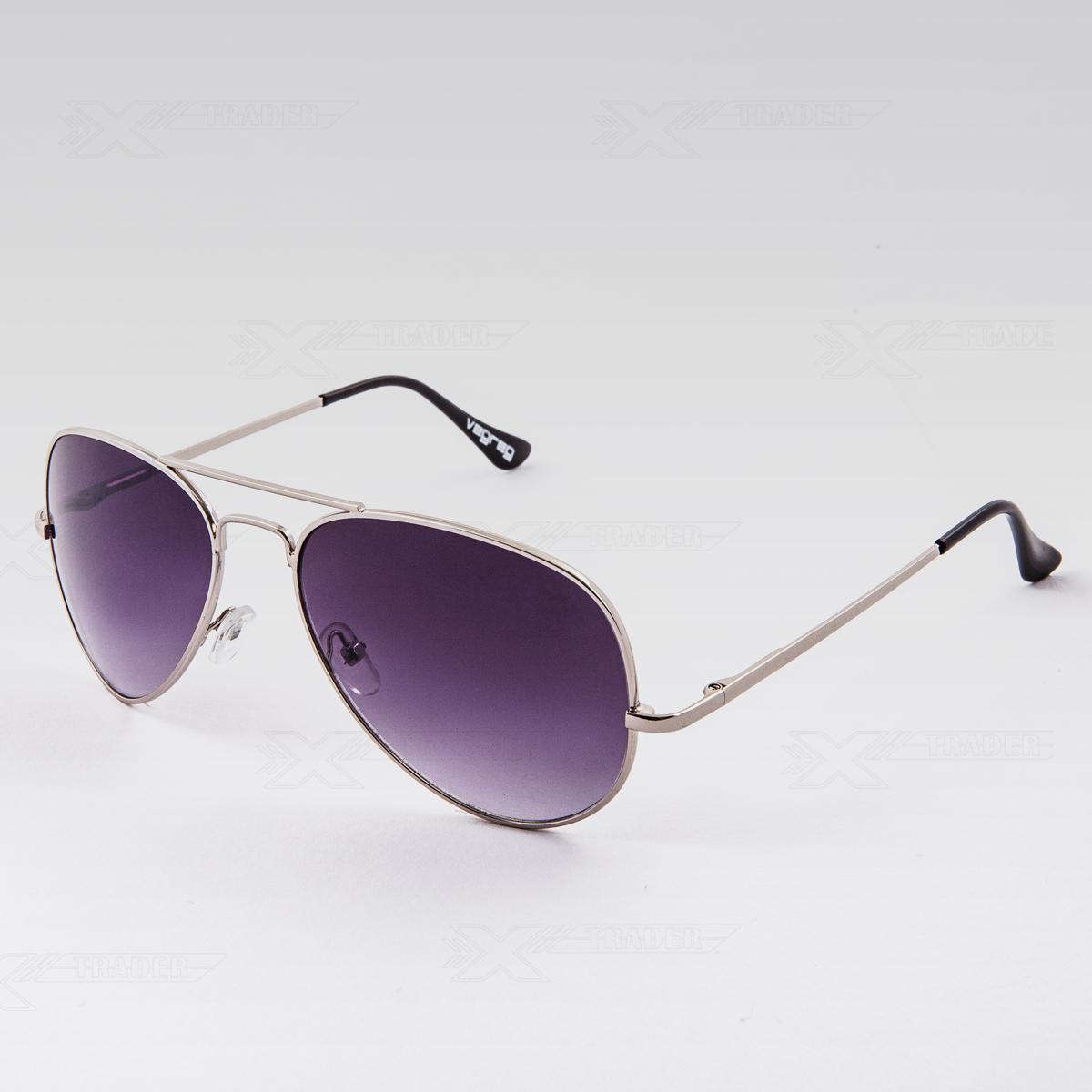 Sluneční brýle Pilotky černé obroučky