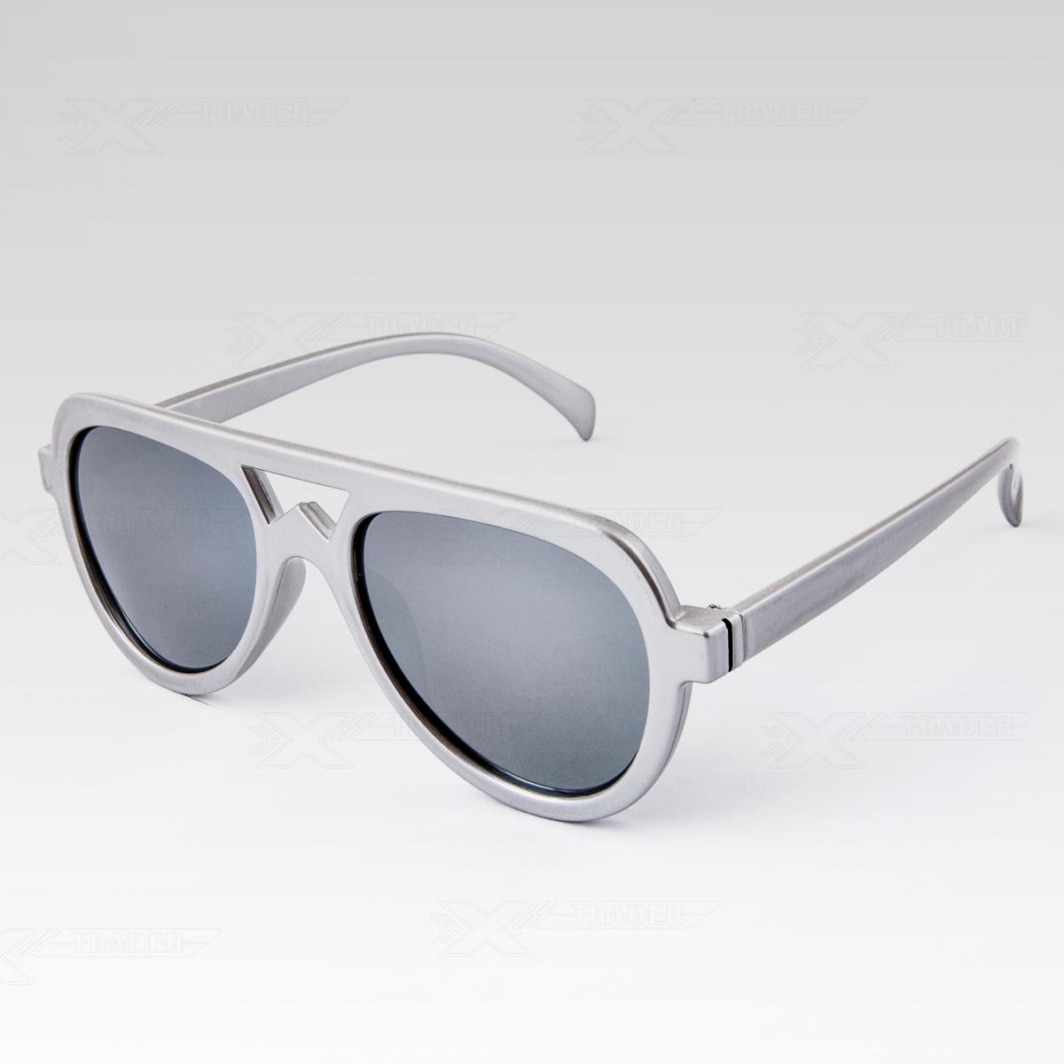 Sluneční brýle Tampa stříbrné