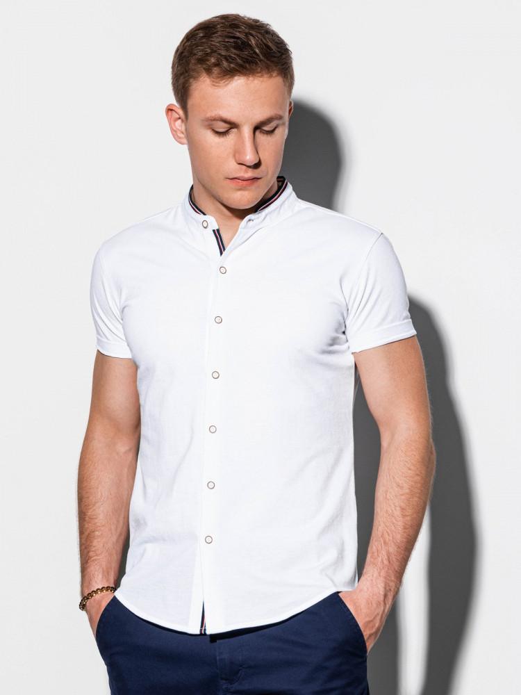 Ombre Clothing Pánská košile Conway bílá