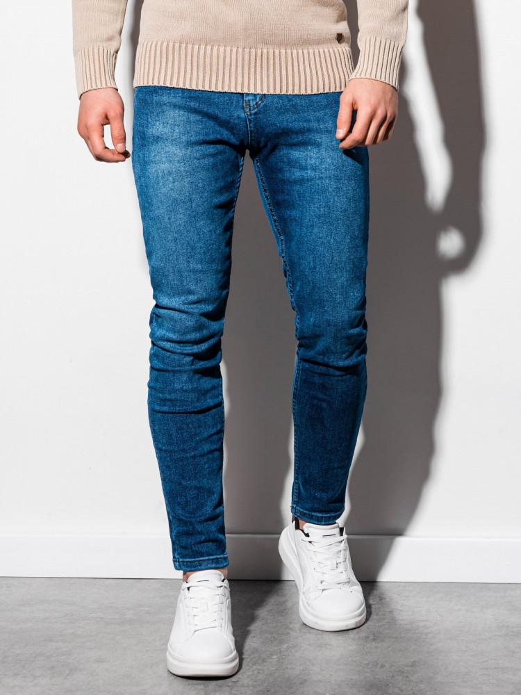 Ombre Clothing Pánské džíny Werner modrá