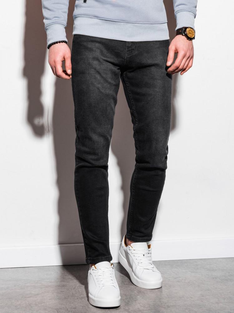 Ombre Clothing Pánské džíny Dorotea černá