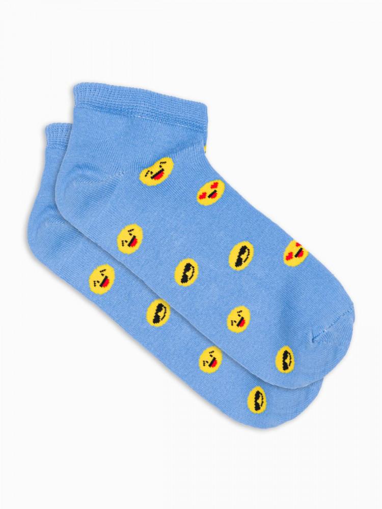 Ombre Clothing Pánské ponožky Alfried světle modrá