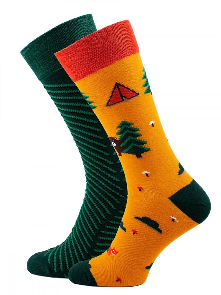 Veselé barevné vzorované ponožky Scout multicolor vel. 39-42