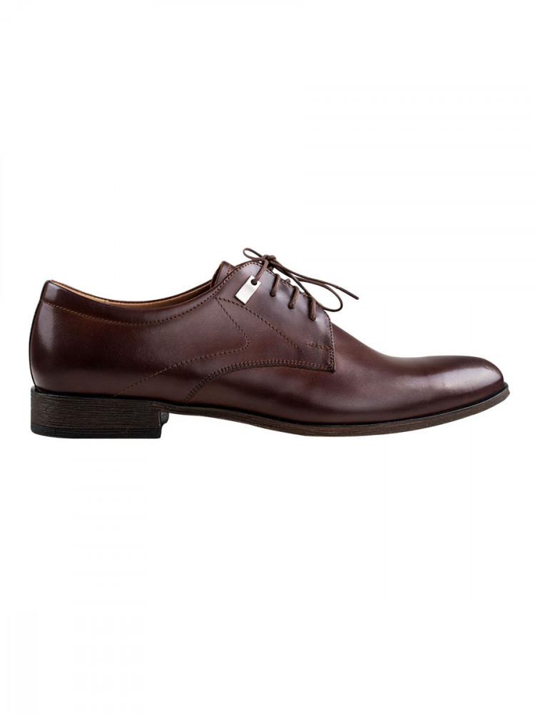 Pánské společenské boty Giorgio tmavě hnědé vel. 40
