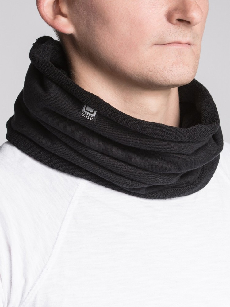 Ombre Clothing Pánský nákrčník Neck černá