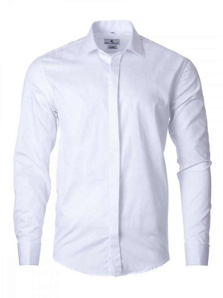 Mens Shirt Trust White 176-182/39
