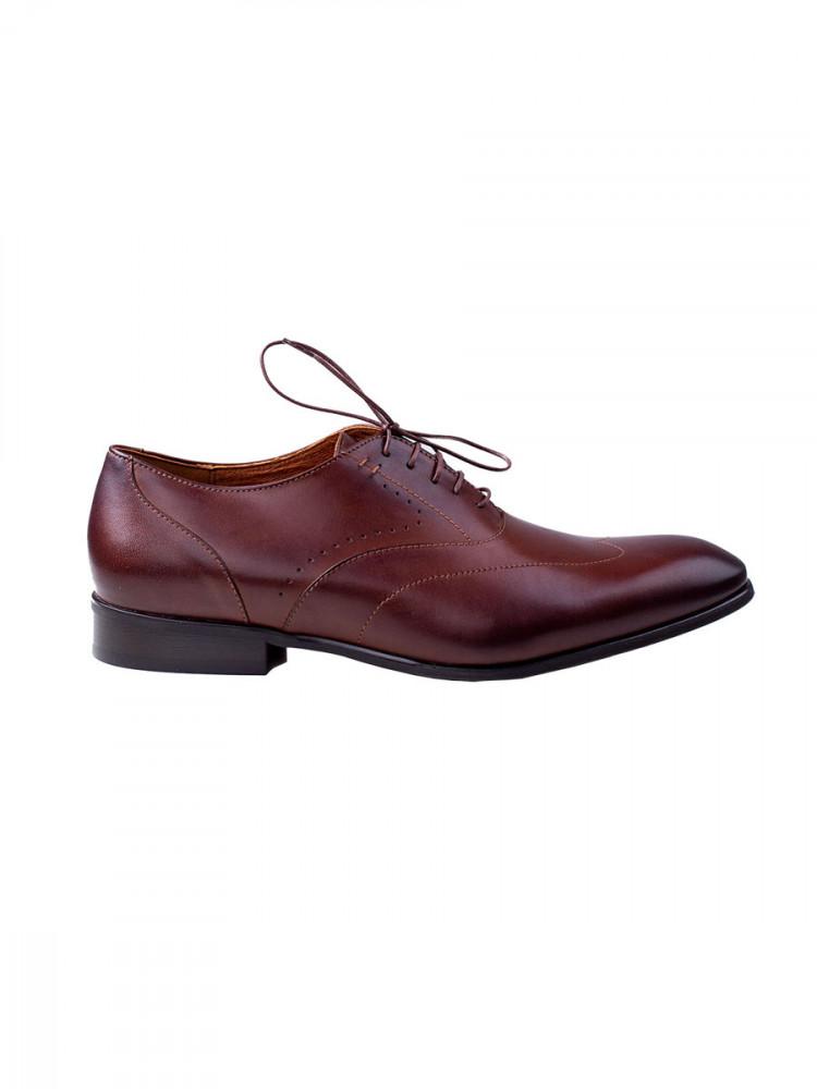 Mens Formal Shoes Eagle Brown size 41