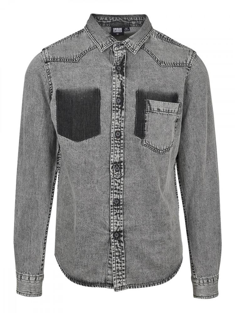 Mens Shirt Knight Grey S