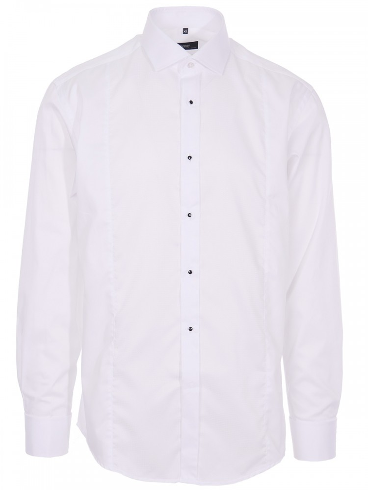 Mens Shirt Mauricius White