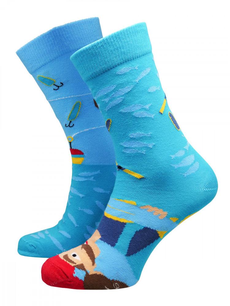 Hesty Socks Pánské ponožky Fisherman zelené