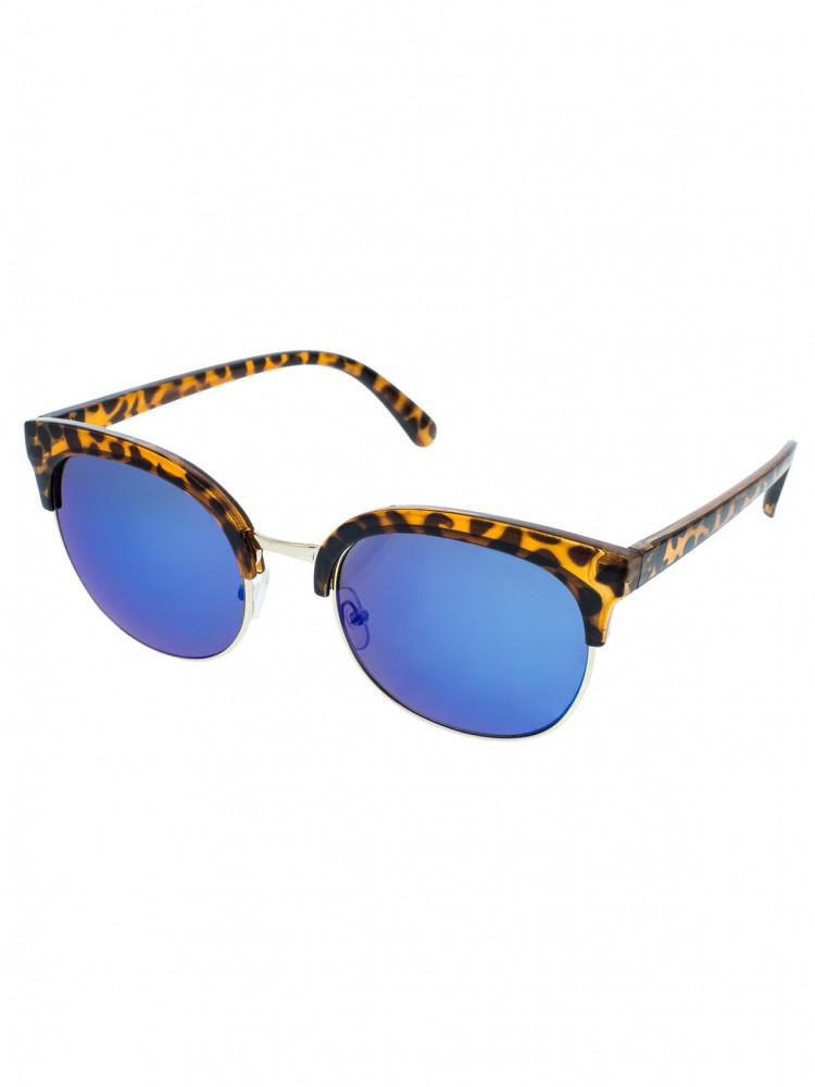 VeyRey Polorámové sluneční brýle July modré