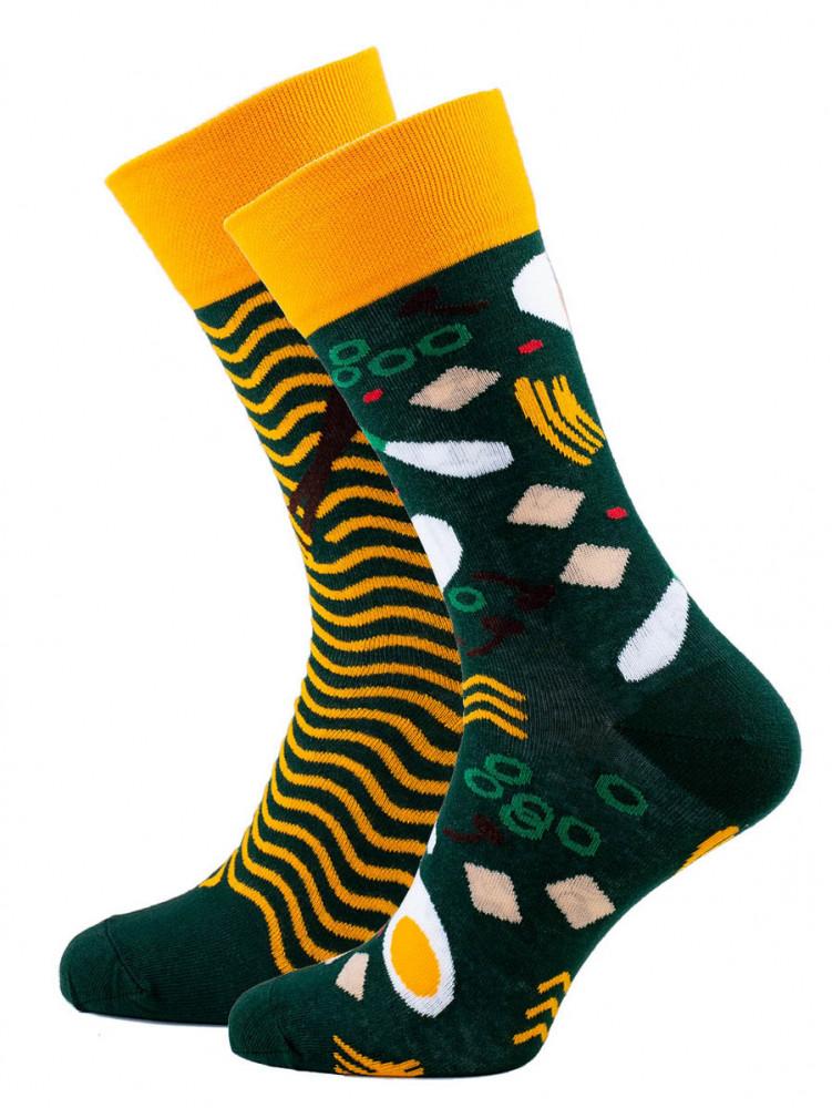 Veselé barevné vzorované ponožky Ramen multicolor vel. 35-38