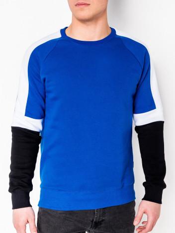Ombre Clothing Pánská mikina Westin modrá