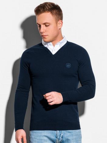 Ombre Clothing Pánský svetr Calvario navy