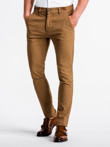 Pánské chinos kalhoty Danilo světle hnědé