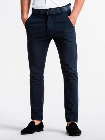 Pánské chinos kalhoty Danilo tmavě modré