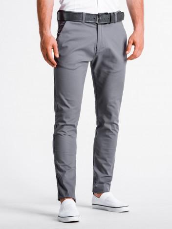 Pánské chinos kalhoty Danilo šedé