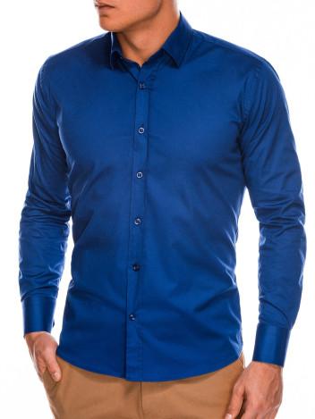 Pánská elegantní košile s dlouhým rukávem Supreme navy