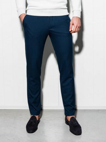 Pánské chinos kalhoty Winston tmavě modré