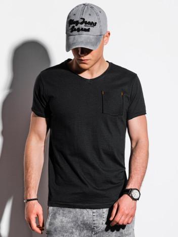 Pánské basic tričko Rodda černé