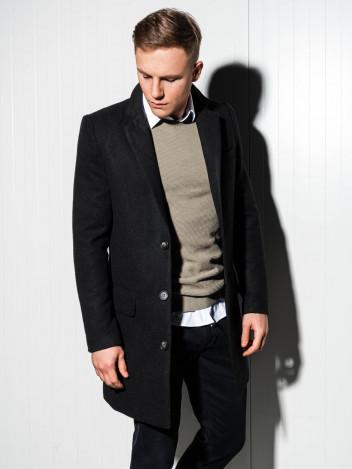 Pánský kabát Niko černý