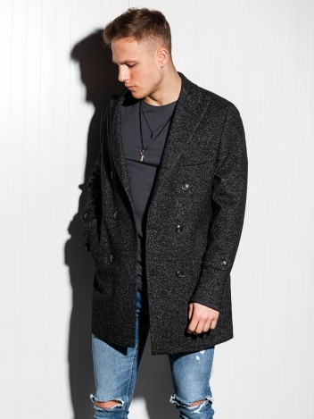 Pánský kabát Becker černý