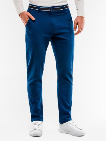 Pánské trendy tmavě modré chino kalhoty Orlando