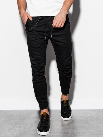 Pánské jogger kalhoty Cowal černá