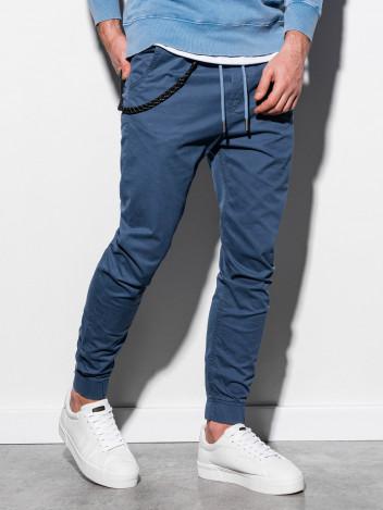 Pánské jogger kalhoty Cowal tmavě modré