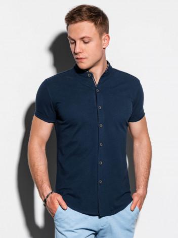 Ombre Clothing Pánská košile Conway navy