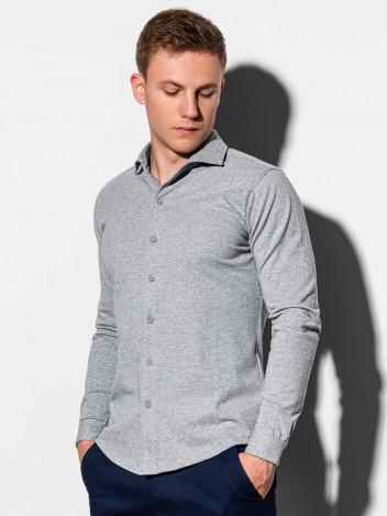 Pánská košile Earls šedá