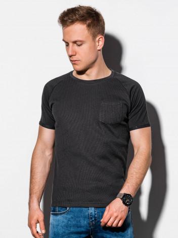 Pánské basic tričko Henshaw černé