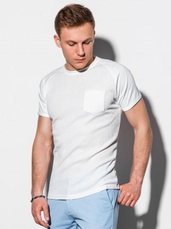 Pánské basic tričko Henshaw bílé