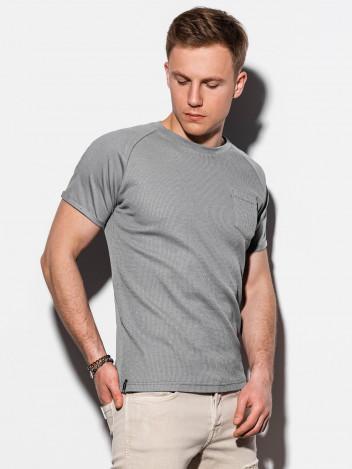 Pánské basic tričko Henshaw šedé